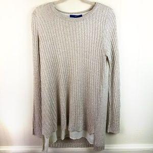 NWT Apt 9 XXL Fully Lined Stretch Tunic Sweater 2X